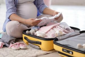 O que colocar na mala de maternidade
