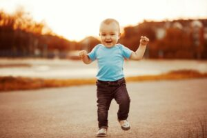 Caminhar do bebê
