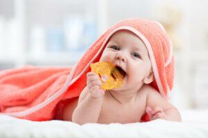 Enxaguante bucal para bebês e crianças